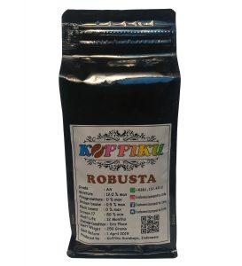 roasted robusta coffee, Indonesia robusta Coffee, robusta bean